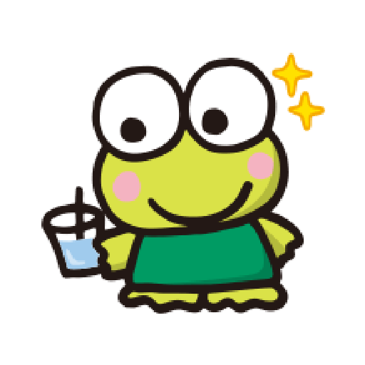 KEROKEROKEROPPI Emoji - 2 - Sticker 8