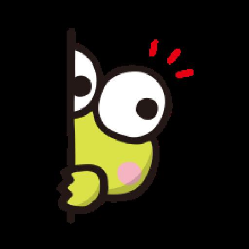 KEROKEROKEROPPI Emoji - 2 - Sticker 9