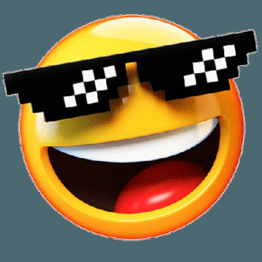 3D emoticons - Sticker 17