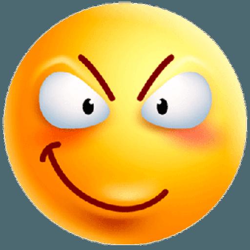 3D emoticons - Sticker 4