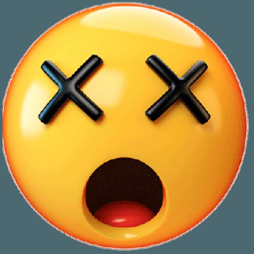 3D emoticons - Sticker 20