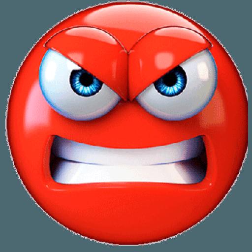 3D emoticons - Sticker 21