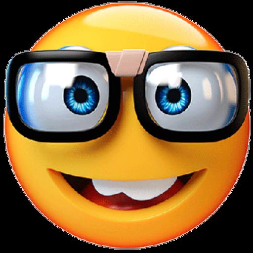3D emoticons - Sticker 22
