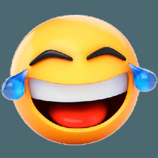 3D emoticons - Sticker 14