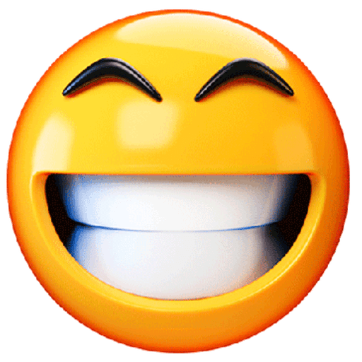 3D emoticons - Sticker 25