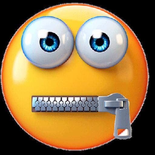 3D emoticons - Sticker 26
