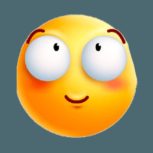 3D emoticons - Sticker 5