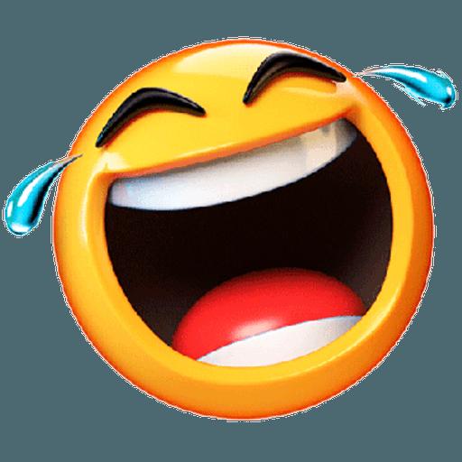 3D emoticons - Sticker 11