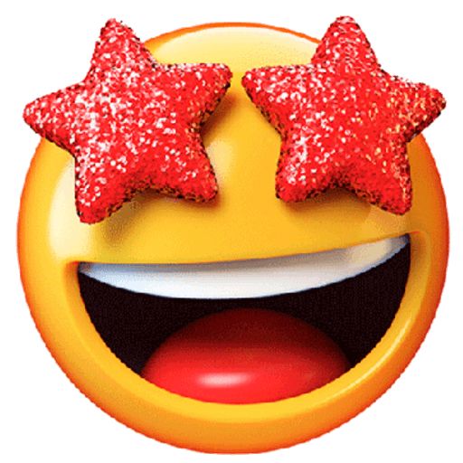 3D emoticons - Sticker 27