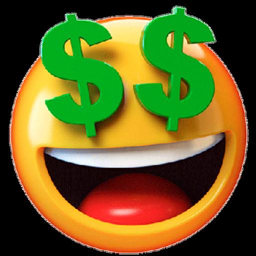 3D emoticons - Sticker 23