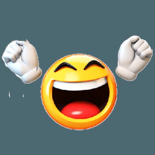 3D emoticons - Sticker 1