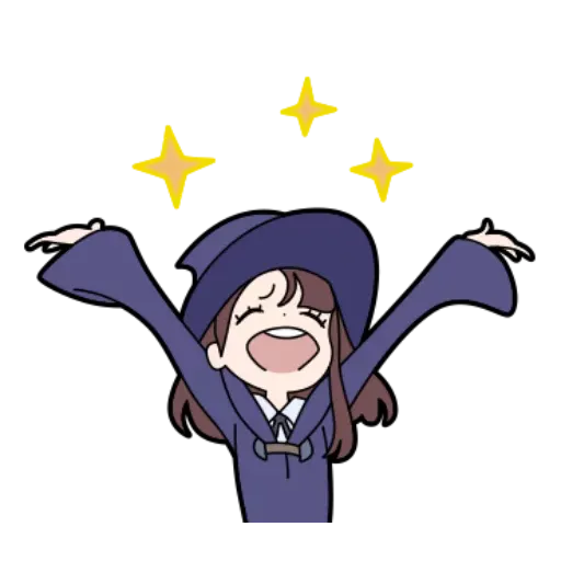 Little witch academia - Sticker 15