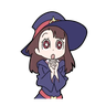 Little witch academia - Tray Sticker