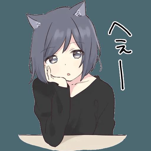 Neko Girl 1 - Sticker 5