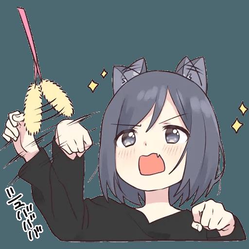 Neko Girl 1 - Sticker 22