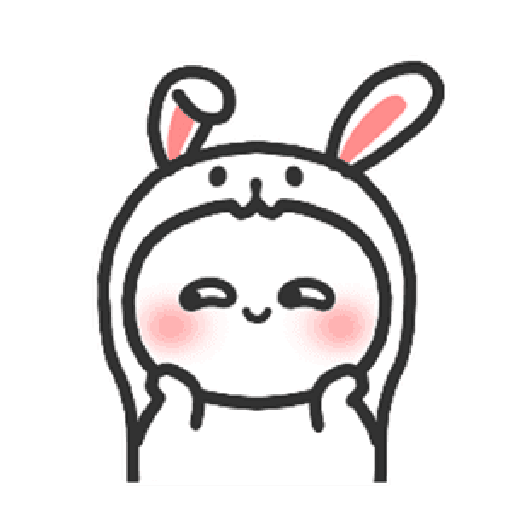 Happy baby rabbit's daily life - Sticker 19