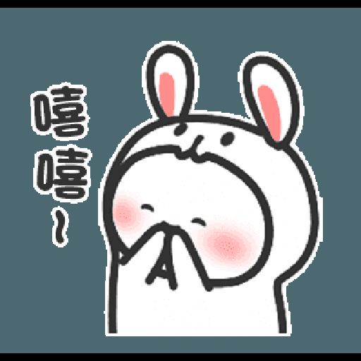 Happy baby rabbit's daily life - Sticker 16