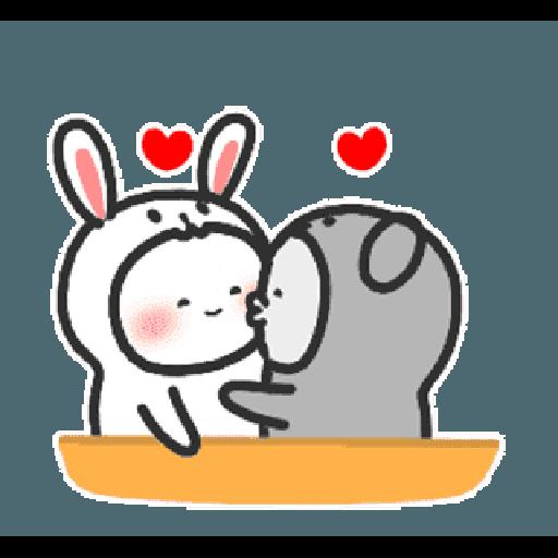 Happy baby rabbit's daily life - Sticker 13