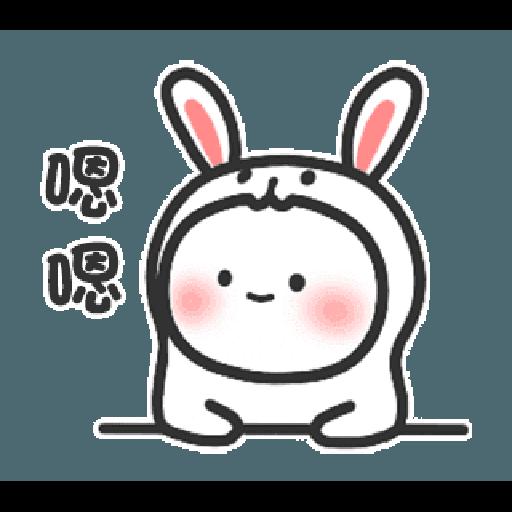 Happy baby rabbit's daily life - Sticker 18