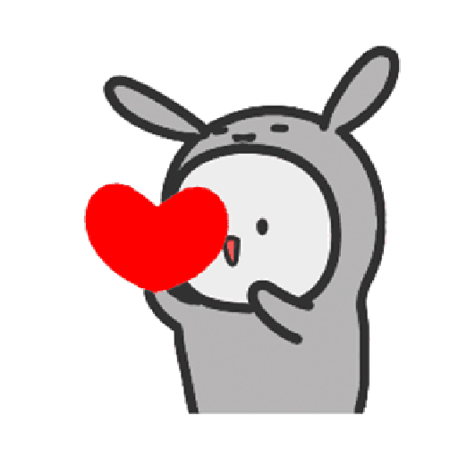 Happy baby rabbit's daily life - Sticker 7