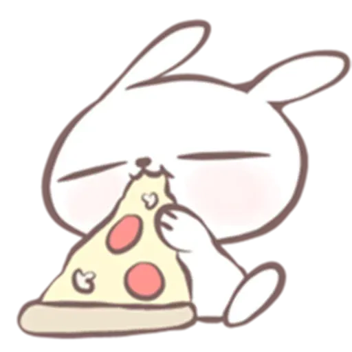 Drawn Bunny - Sticker 18
