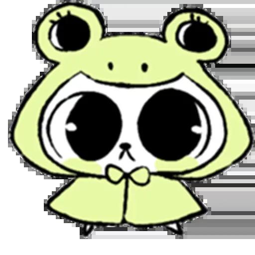 Drawn Bunny - Sticker 2