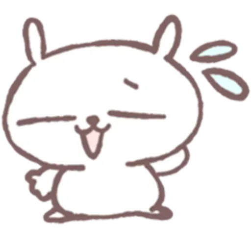 Drawn Bunny - Sticker 9