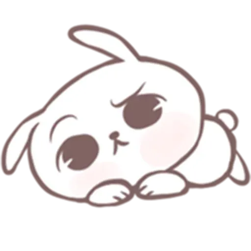 Drawn Bunny - Sticker 17