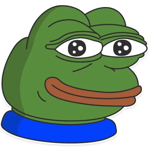 Pepe 1 - Tray Sticker