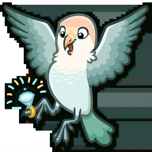 Lovebirds - Sticker 7