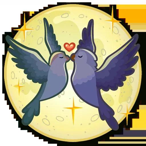 Lovebirds - Sticker 18