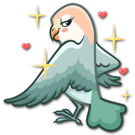 Lovebirds - Sticker 5