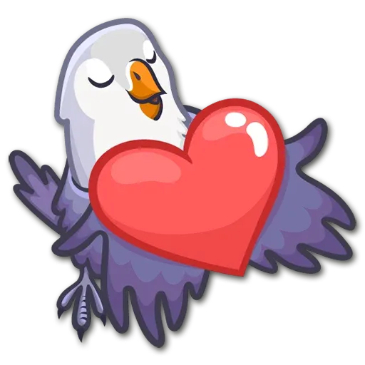 Lovebirds - Sticker 2