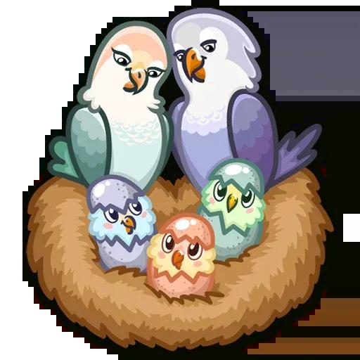 Lovebirds - Sticker 15