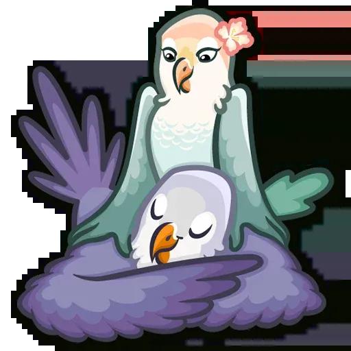 Lovebirds - Sticker 8