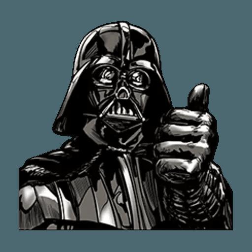 Darth Vader - Tray Sticker