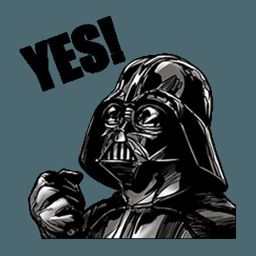 Darth Vader - Sticker 2