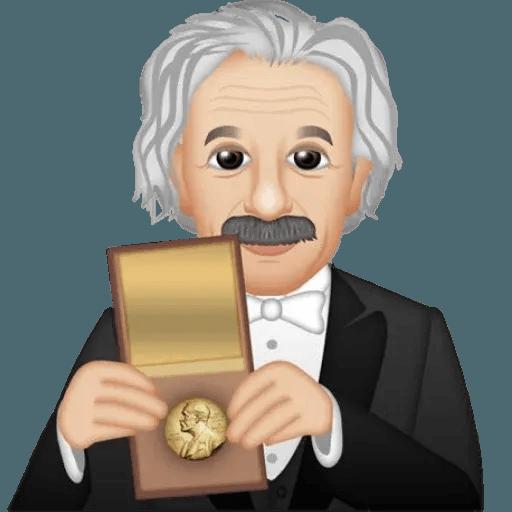 Einstein - Einsteinmoji - Sticker 27