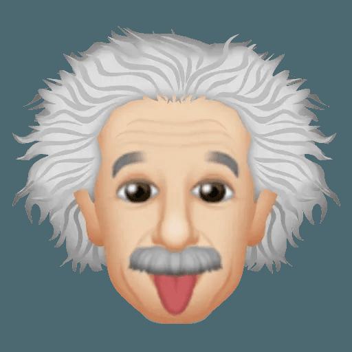 Einstein - Einsteinmoji - Sticker 5