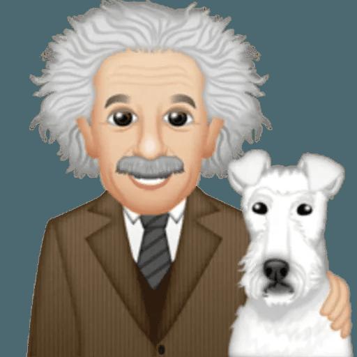 Einstein - Einsteinmoji - Sticker 30