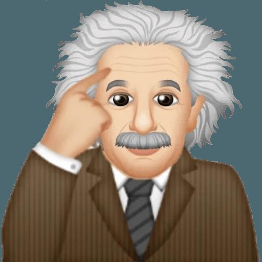 Einstein - Einsteinmoji - Sticker 21