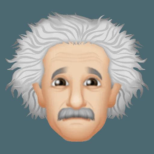 Einstein - Einsteinmoji - Sticker 6