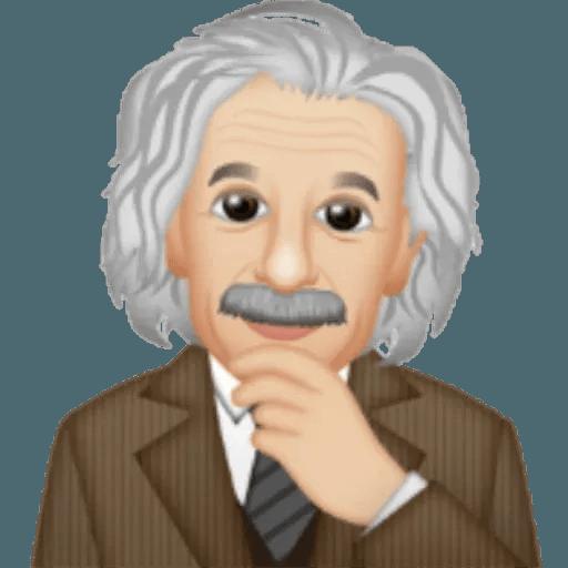 Einstein - Einsteinmoji - Sticker 23