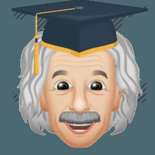 Einstein - Einsteinmoji - Sticker 17