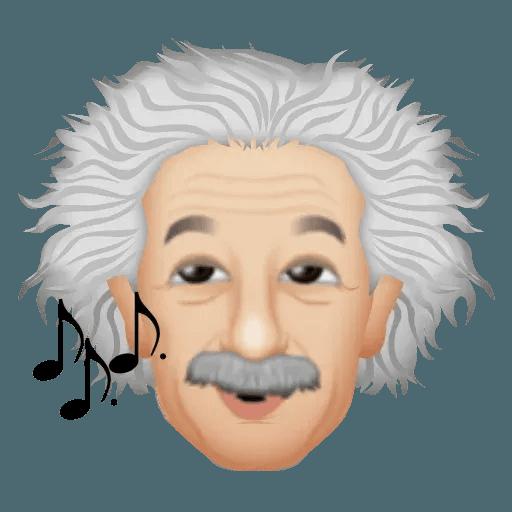 Einstein - Einsteinmoji - Sticker 14