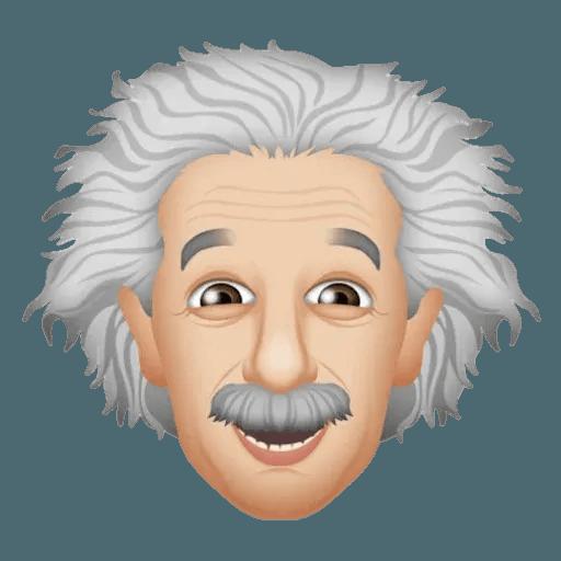 Einstein - Einsteinmoji - Sticker 12