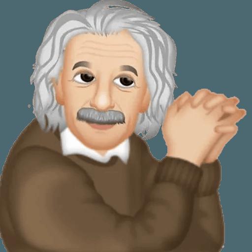 Einstein - Einsteinmoji - Sticker 26