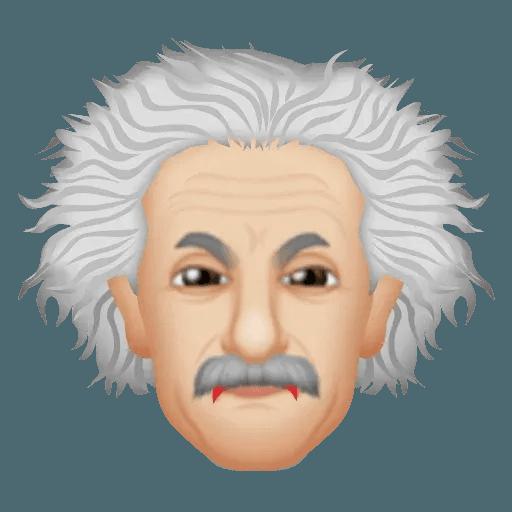Einstein - Einsteinmoji - Sticker 9