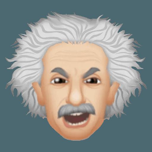 Einstein - Einsteinmoji - Sticker 18