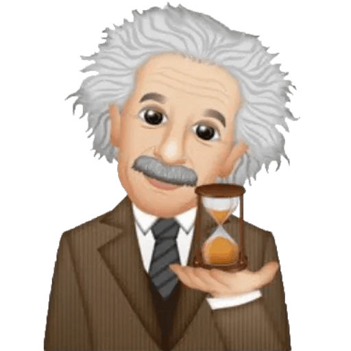 Einstein - Einsteinmoji - Sticker 25